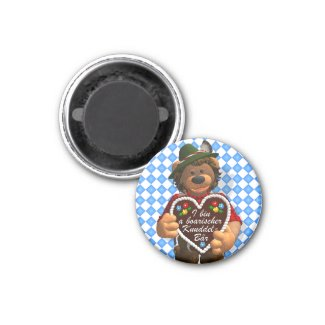 Dinky Bears Bavarian Cuddle Bear Refrigerator Magnets