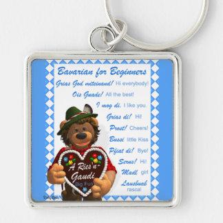 Dinky Bears Bavarian for Beginners Keychain