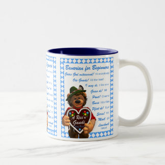 Dinky Bears Bavarian for Beginners Two-Tone Coffee Mug