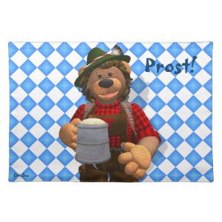 Dinky Bears Bavarian Oktoberfest Bear Placemat