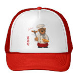Dinky Bears BBQ Chef Trucker Hat