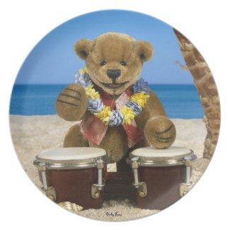 Dinky Bears Beach Drummer