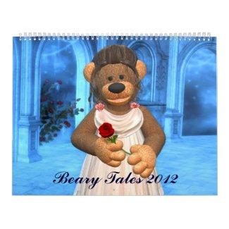 Beary Tales Calendar 2012