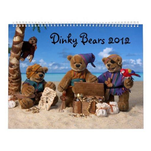 Dinky Bears Calendar 2012
