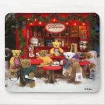 Dinky Bears Christmas Fair Mouse Pad