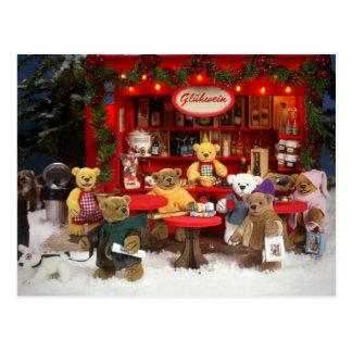 Dinky Bears Christmas Fair Post Cards
