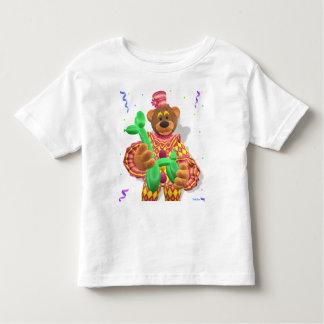Dinky Bears Clown Modelling Balloon Animals Toddler T-shirt
