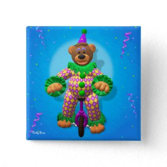 Dinky Bears Clown on Unicycle