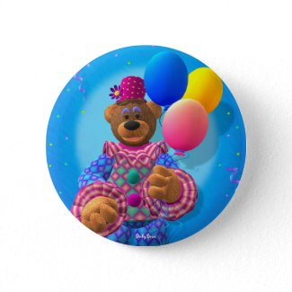 Dinky Bears Clown with Balloons