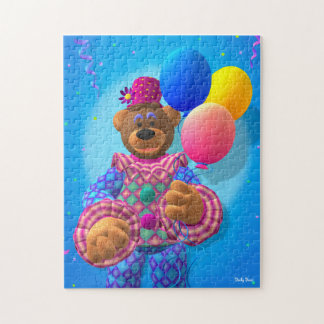 Dinky Bears Clown with Balloons Jigsaw Puzzle