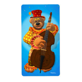 Dinky Bears Clown with Bass Label
