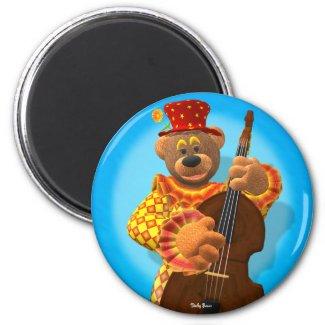 Dinky Bears Clown with Bass