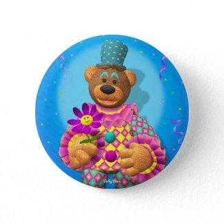 Dinky Bears Clown with Flower