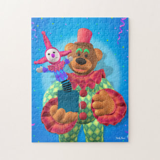 Dinky Bears Clown with Jack in the Box Jigsaw Puzzle