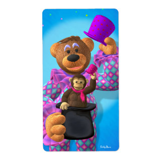 Dinky Bears Clown with Monkey Label