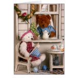 Dinky Bears: Country Life Greeting Card