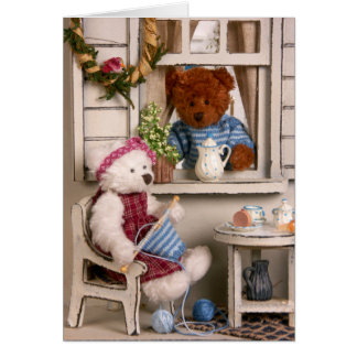 Dinky Bears: Country Life Greeting Card