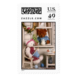 Dinky Bears: Country Life Stamps