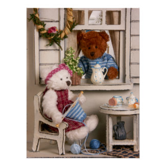 Dinky Bears: Country Life Poster