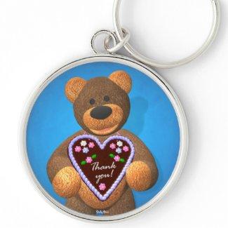 Dinky Bears Dearly Tidings 1 keychain