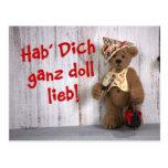 Dinky Bears: Declaration of love Postcard