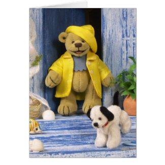 Dinky Bear mit Hund