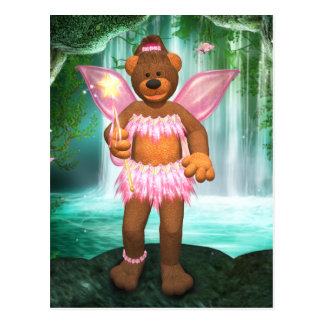 Dinky Bears Enchanting Fairy Postcard