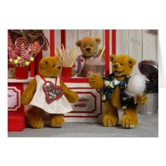 Dinky Bears Fairground Fun card