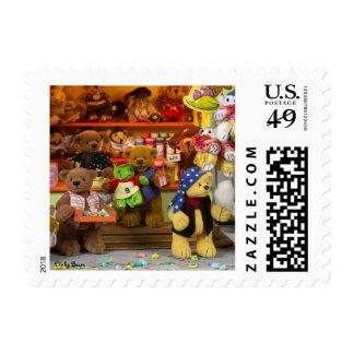 Dinky Bears Fairground Fun Stamp