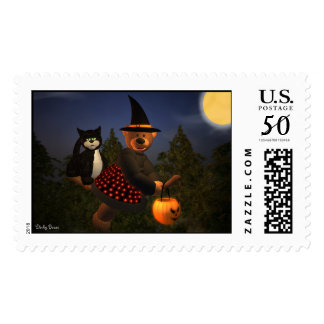Dinky Bears Flying Witch Postage