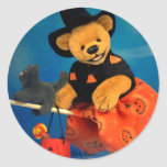Dinky Bears Flying Witch Stickers