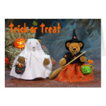 Dinky Bears Ghost & Witch Cards
