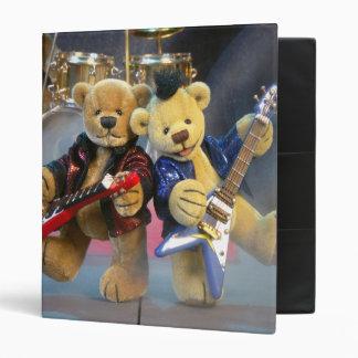 Dinky Bears Guitar Duet 3 Ring Binder