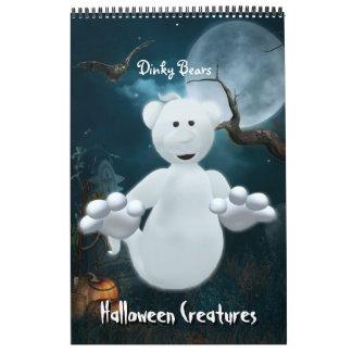 Dinky Bears Halloween Creatures Calendar