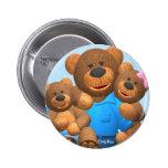 Dinky Bears: Happy Family Pins