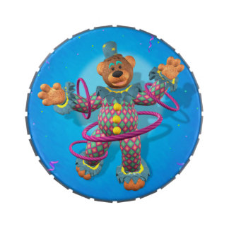 Dinky Bears: Hula Hooping Clown Candy Tin
