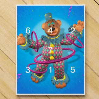 Dinky Bears: Hula Hooping Clown Chocolate Countdown Calendar