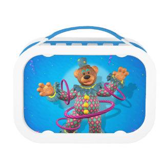 Dinky Bears: Hula Hooping Clown Yubo Lunchbox