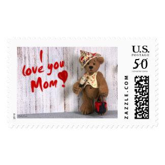 Dinky Bears: I love you Mom Postage