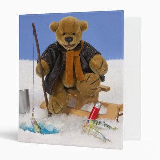 Dinky Bears Ice Fishing Binder