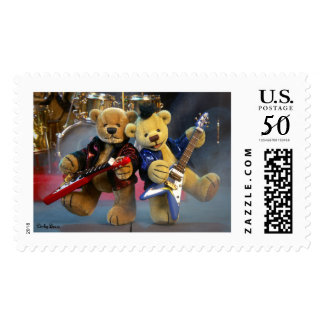 Dinky Bears in Concert Postage