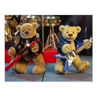 Dinky Bears in Concert Postcard