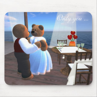 Dinky Bears in Love Mouse Pad