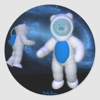 Dinky Bears in Space