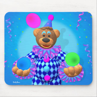 Dinky Bears juggling clown Mouse Pad