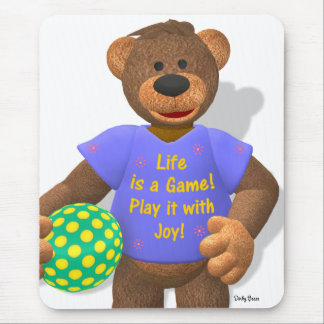 Dinky Bears: Life is a Game Mouse Pad