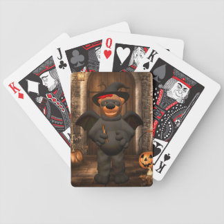 Dinky Bears: Little Bat Bicycle Playing Cards