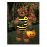 Dinky Bears Little Bee Postcards