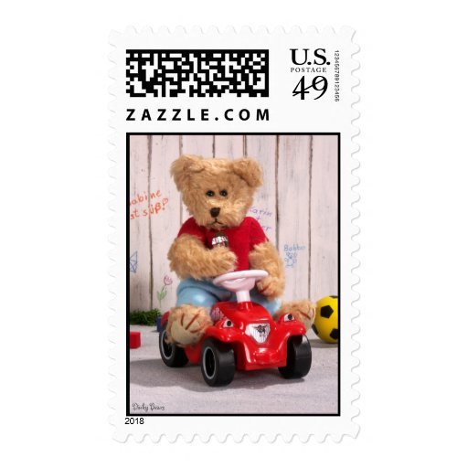 Dinky Bears: Little Boy Postage Stamps