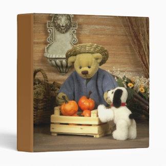 Dinky Bears Little Gardener 3 Ring Binder